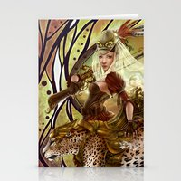 safari Stationery Cards featuring Safari by Bea González