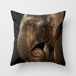 Loxodonta Throw Pillow