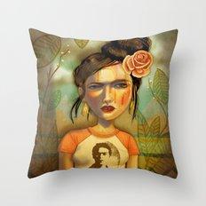 Frida Bomb Throw Pillow