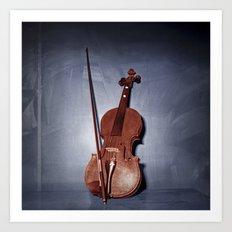 The Red Violin Art Print