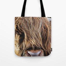 Highland Cow Print II Tote Bag