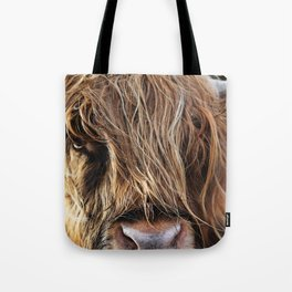Highland Cow Print II Tote Bag