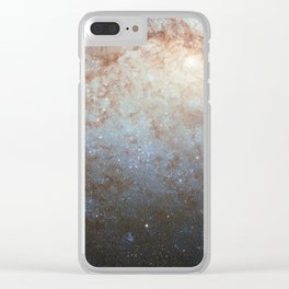 Spiral Galaxy NGC 3621 Clear iPhone Case