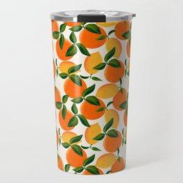 Oranges and Lemons Travel Mug