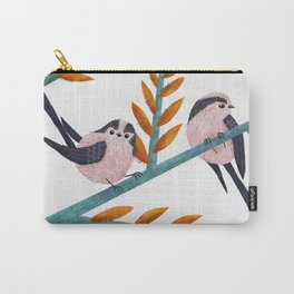 Happy Long-Tailed Tits Carry-All Pouch