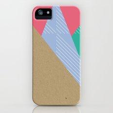 Cardboard & Combo Stripes Slim Case iPhone (5, 5s)