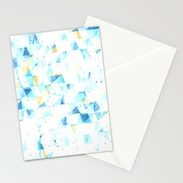 COLD 90'S TONES PATTERN Stationery Cards