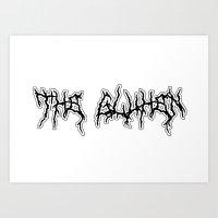 The Glühen -Logo Art Print