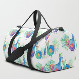 Peacock Fam Duffle Bag