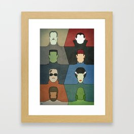 A Universal Horror Framed Art Print
