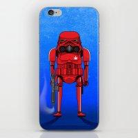 marijuana iPhone & iPod Skins featuring Marijuana trooper by kakin