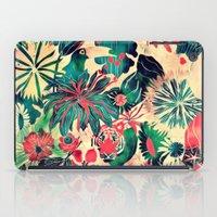 jungle iPad Cases featuring Jungle by Demi Goutte