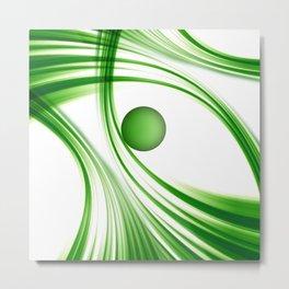 Green 113 Metal Print