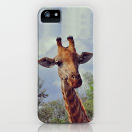 Closer, closer, how about now? iPhone Case