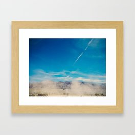 Utah Dusty Trail Framed Art Print