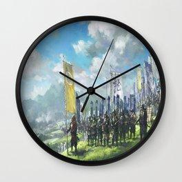 Sengoku Jidai Wall Clock
