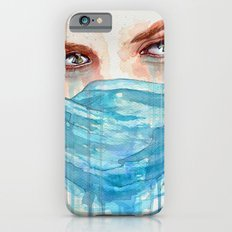Forgotten, watercolor painting Slim Case iPhone 6s