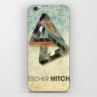 escher iPhone & iPod Skins featuring escher hitch by Vin Zzep