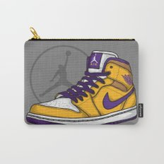 Jordan 1 mid (LA Lakers) Carry-All Pouch