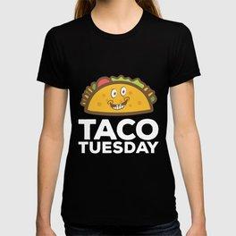 Cute & Funny Taco Tuesday Smiling Taco T-shirt
