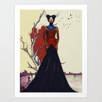 Dreaming of Revelry v.1 Art Print
