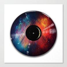 Lunar Music Canvas Print