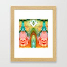 The Goddess - Abstract Art By Sharon Cummings Framed Art Print