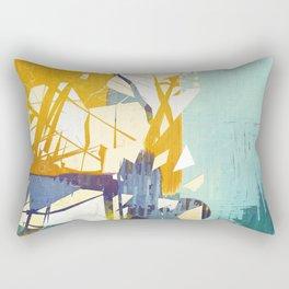 Fragmented  Rectangular Pillow