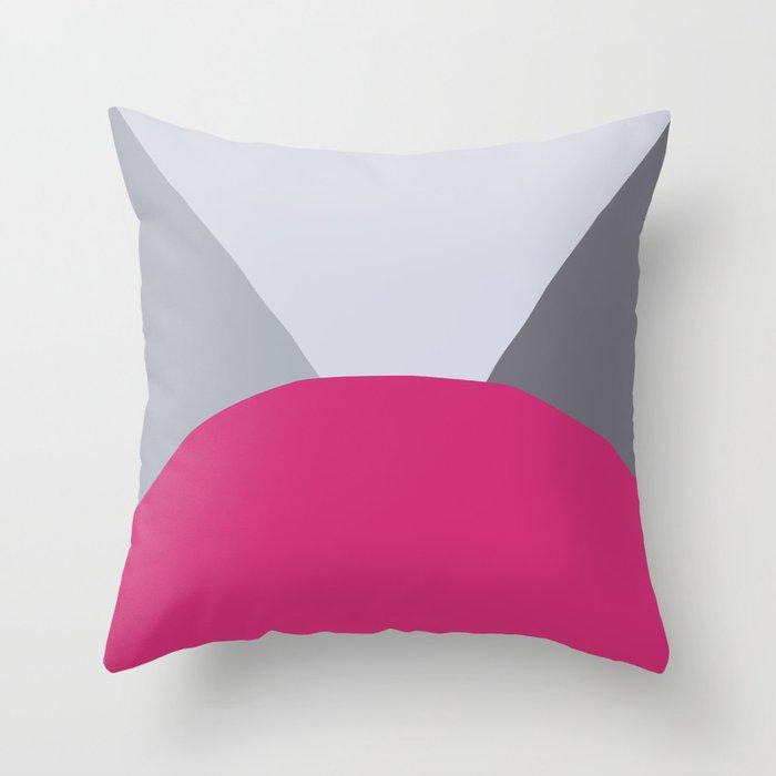 Deyoung Pink Yarrow Throw Pillow