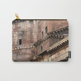 Pantheon of Rome Side View Carry-All Pouch