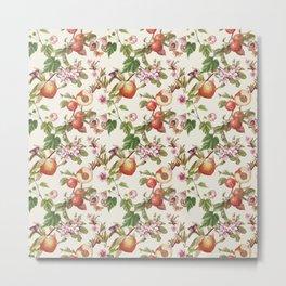 botanical fruits Metal Print