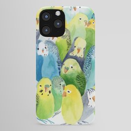 Budgie Village iPhone Case