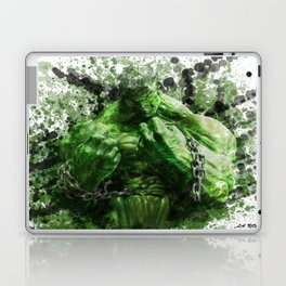 Green Hero Laptop & iPad Skin