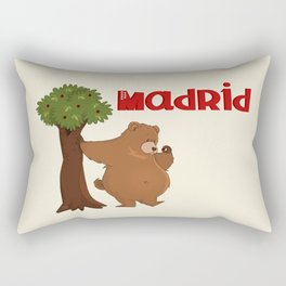 MADRID: Bear and Madrono (v.2) Rectangular Pillow