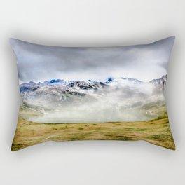 Lago Ercina in National park Picos de Europa Rectangular Pillow
