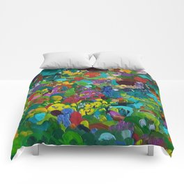 Flower Forest Comforters