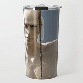 Just Half the Man Travel Mug