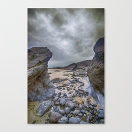 Gap in the Rocks Canvas Print