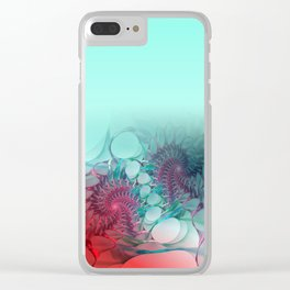 curtain spider's work -3- Clear iPhone Case