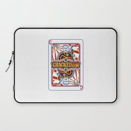 The Cracked Wild Card Laptop Sleeve