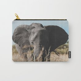 Wild Elephant Carry-All Pouch