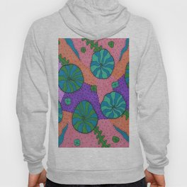 Retro Sea Garden Hoody