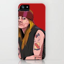 Axl iPhone Case