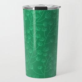 Soft & Fuzzy (Green) Travel Mug