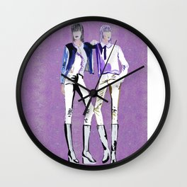 Fashion Illustration2 Wall Clock