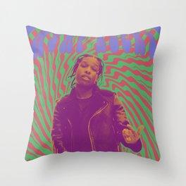 ASAP Rocky Throw Pillow
