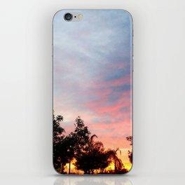 Wonderous sky iPhone Skin