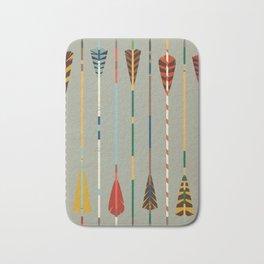 Vintage Arrows Bath Mat