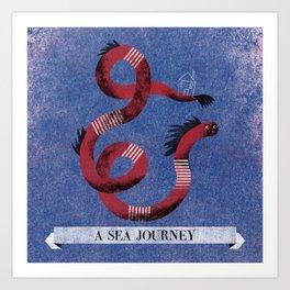 A Sea Journey #2 Art Print