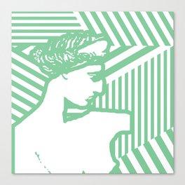 Gods Geometric - Aphrodite Canvas Print